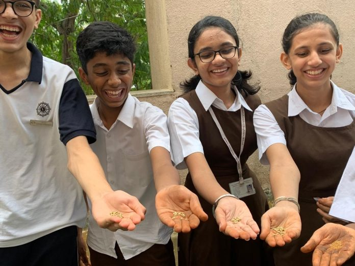 Smt Sulochana Singhania School Thane (Mumbai) - organic farming
